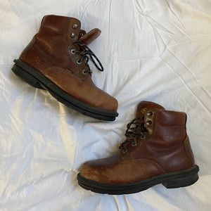Wolverine steel toed work boots